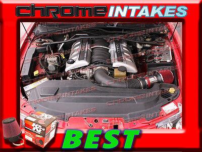 RED CHF 2004-2006//04-06 PONTIAC GTO G T O 5.7L 6.0L V8 AIR INTAKE KIT S