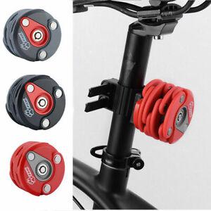 PAW Bicycle Anti Theft Chain Folding Hamburg Lock Zinc Alloy Multi-function Gray