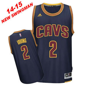 buy online a397b 9a42c Details about Kyrie Irving #2 Cleveland Cavaliers NBA 14-15 NEW SWINGMAN  JERSEY Navy