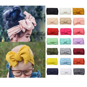 Kids-Girl-Baby-Headband-Bow-Flower-Hair-Band-Accessories-Toddler-Hair-Band-Wraps