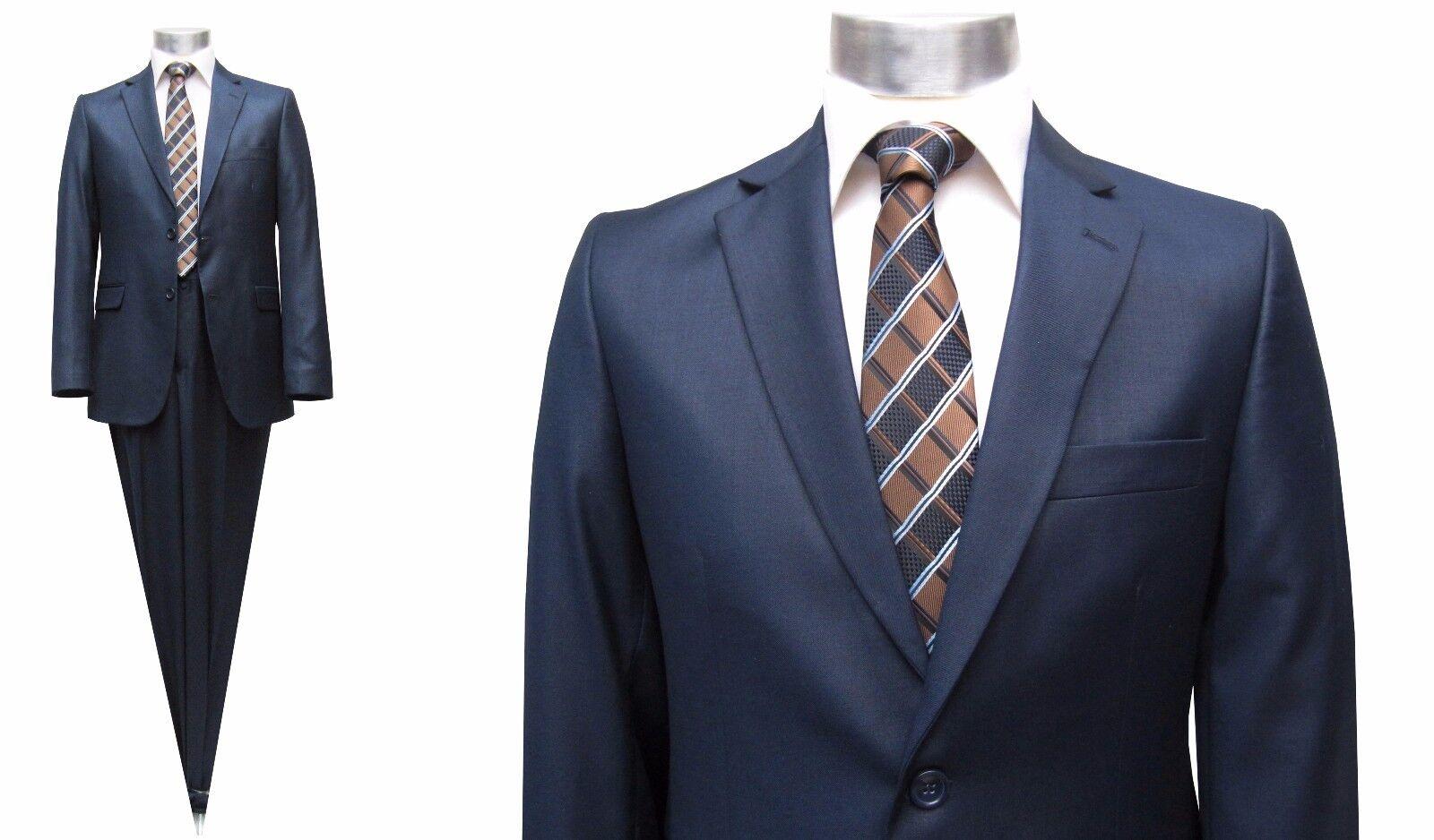Moderne Herren Anzug Gr.46 Blau marine
