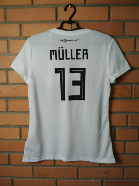 Germany Muller Jersey 2017 2018 Home L Shirt Adidas Football Soccer Trikot