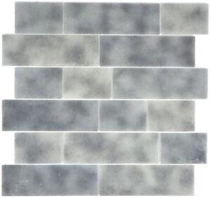 Vetro-mosaico-piastrella-GRIGIO-muro-federativo-grigio-cucina-muro-bagno-e-WC-68-0259l