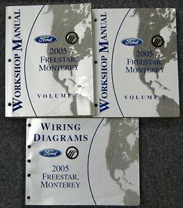 2005 Ford Freestar Mercury Monterey Service Workshop ...