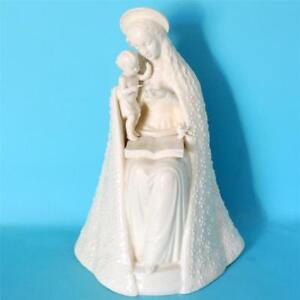 EARLY-LARGE-HUMMEL-GOEBEL-MADONNA-CHILD-FIGURINE-GERMANY-INCARVED-CROWN-MARKED