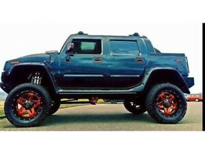 2006 LIFTED SUPERCHARGED HUMMER H2 SUT Luxury Edition