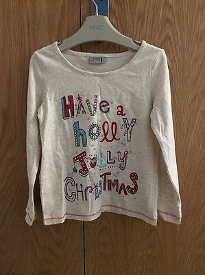 Ingenious Next ????christmas????long Sleeved Top Age 3-4 Years Sophisticated Technologies Clothes, Shoes & Accessories