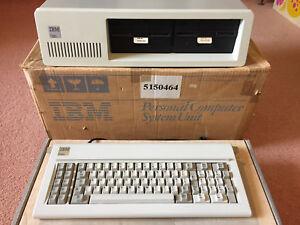Vintage-Original-IBM-PC-5150-From-1982-in-box-spares-Very-Rare