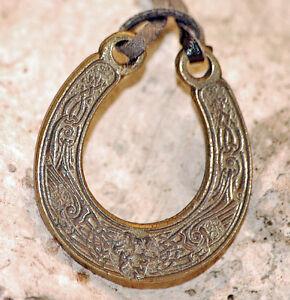 Amulett Messing Hufeisen Talisman GroßEs Sortiment