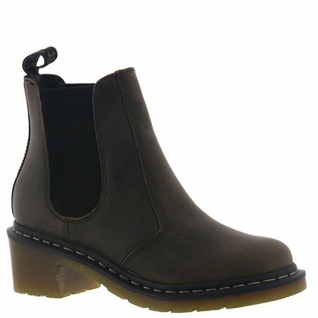 Martens Women/'s Flora Ankle Chelsea Boot Cherry Red Arcadia Leather NIB Dr