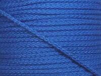 5 m Baumwoll Kordel 0,59 Euro/m blau 5 mm breit