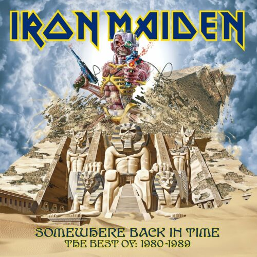 1 of 1 - IRON MAIDEN SOMEWHERE BACK IN TIME THE BEST OF 1980-1989 CD