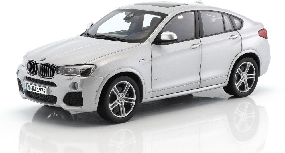 CONCESSIONARIO BMW modelli M4 650i 650i 650i X4 Modello Diecast Auto Stradali Bronzo GIALLO BLU 1 18th e3457e