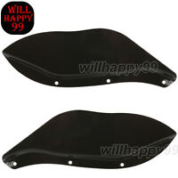 Fairing Windshield Side Wing Air Deflector For Harley Touring Flhr Flht Flhx 93+