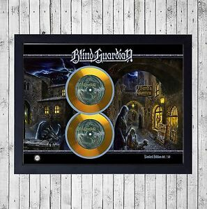 BLIND-GUARDIAN-LIVE-CUADRO-CON-GOLD-O-PLATINUM-CD-EDICION-LIMITADA-FRAMED