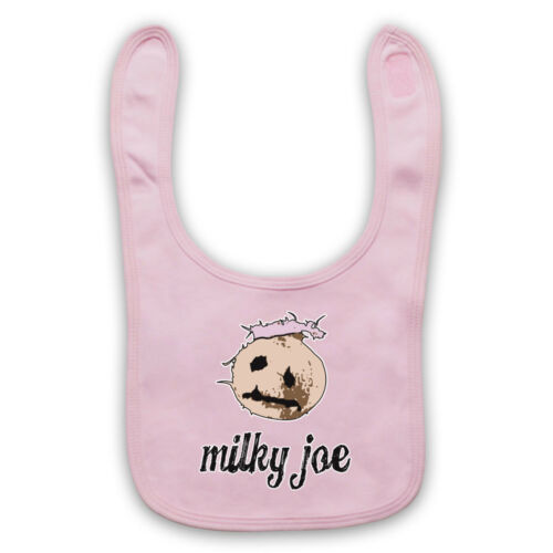 COCONUT MILKY JOE UNOFFICIAL THE MIGHTY BOOSH COMEDY TV BABY BIB CUTE BABY GIFT