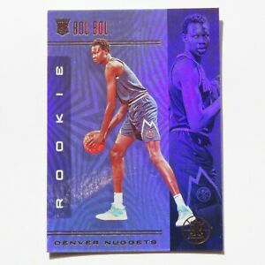 Bol-Bol-Panini-Illusions-Rookie-RC-2019-2020-164-Denver-Nuggets-Basketball-Card