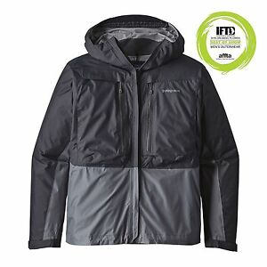 Patagonia-Fly-Fishing-MINIMALIST-WADING-Jacket-Forge-Grey-XL-XLarge