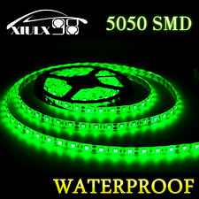 IP65 5M LED ElcPark 5050 SMD Green 300LEDs Flexible Light Strip DC12V Waterproof