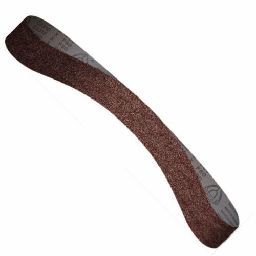 25 KLINGSPOR-Schleifbänder 13 x 610mm K40-240 Edelstahl Stahl Inox Bandschleifer