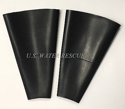 Pair HEAVY DUTY DRY SUIT Bottle Shape Latex WRIST SEALS for Drysuit Repair BWS
