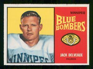 JACK-DELVEAUX-1963-TOPPS-CFL-NO-85-EX-29230
