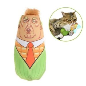 Funny-Cat-Toys-Trump-Stuffed-Plush-Corn-Pet-Interactive-Teaser-Catnip-Squeaky