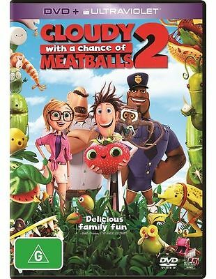 NEW Cloudy With A Chance Of Meatballs 2 (DVD, 2014)