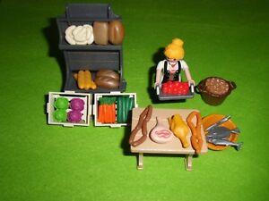 ANTICUARIO Playmobil BELEN FIGURAS,ACCESORIOS,COMERCIANTE