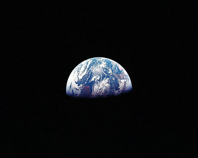 Nasa Earthrise Above Moon Horizon Apollo 8 11x14 Silver Halide Photo Print Aromatic Character And Agreeable Taste Collectibles Astronauts & Space Travel