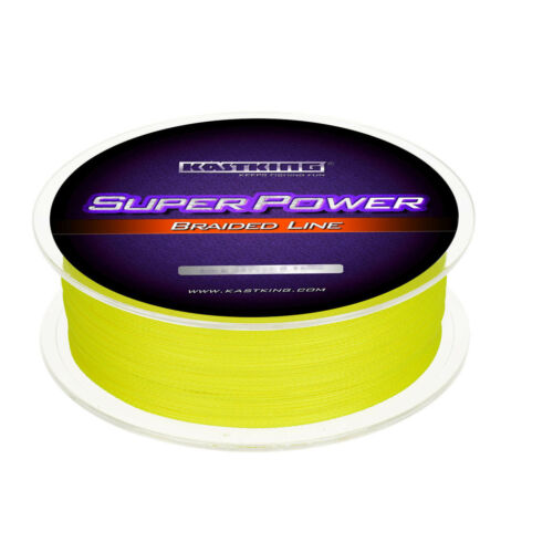 KastKing SuperPower Geflochtene Schnüre Meeresangel 300m 6.8kg Gelb 0.14mm