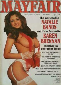 Image Is Loading Mayfair Magazine Volume  Natalie Banus