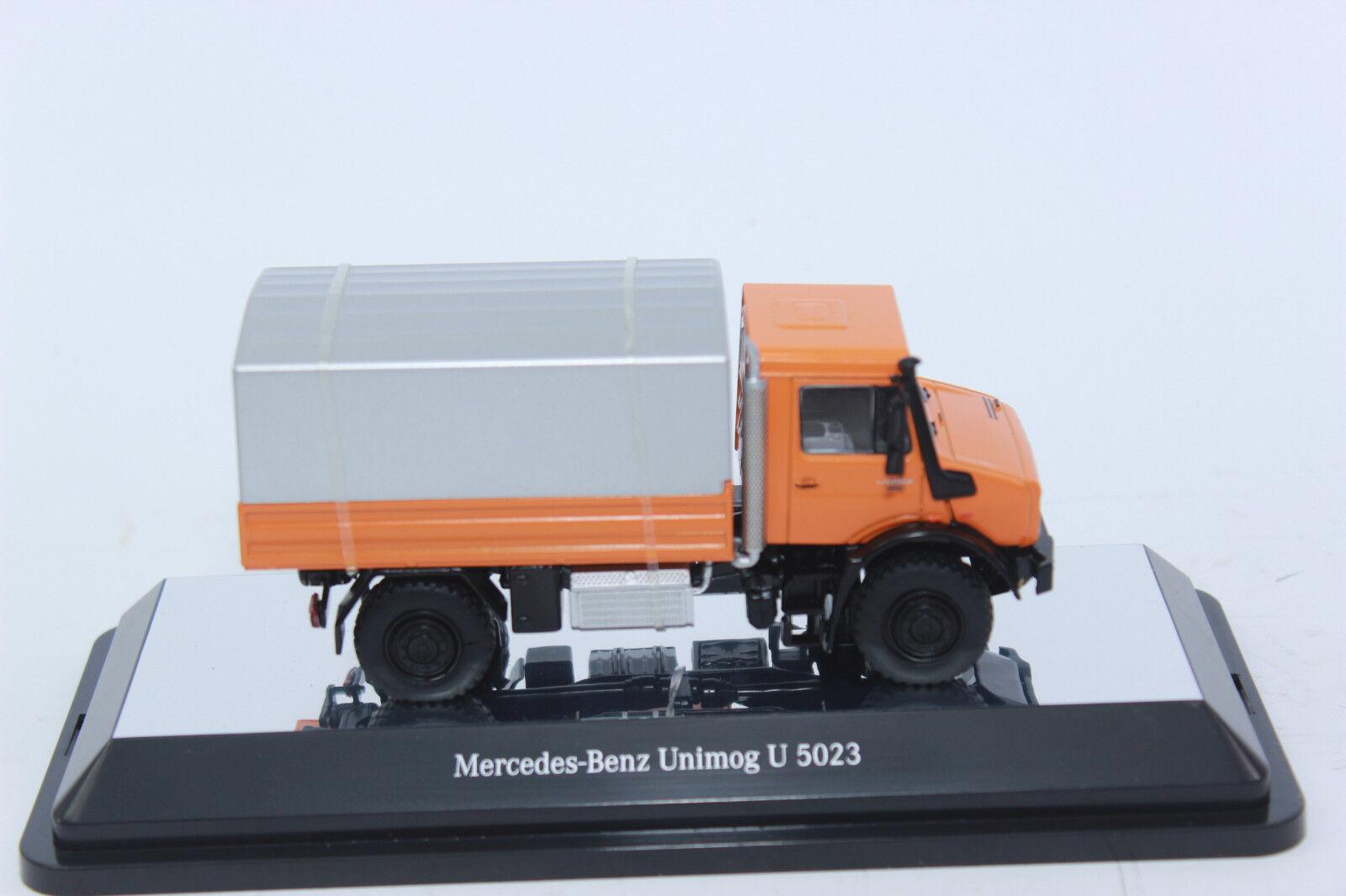NZG 911 65 65 65 MERCEDES BENZ UNIMOG orange silver 1 50 NEU in OVP     SONDERPREIS    c15367