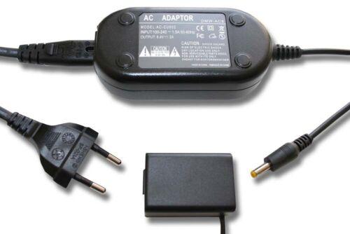 NETZTEIL MIT KUPPLER DMW-DCC6 DMW-DCC6E für AkkuFACH DMW-BMB9E für Panasonic