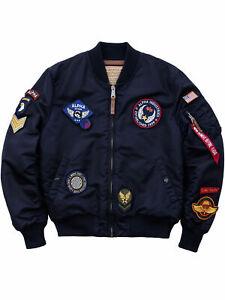Alpha-Industries-Jacke-MA1-VF-DIY-Replica-Blue-178122-03-Patch-Bomberjacke-6124