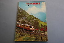 X050 FLEISCHMANN Train catalogue auto rallye Ho N 1972 76 p 29,5*20,7 DM Katalog