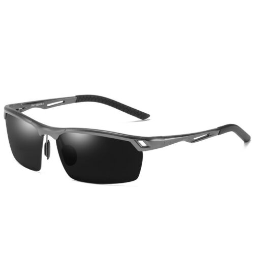 HD Polarized Day/&Night Vision Driving Glasses Mens Pilot Photochromic sunglasses