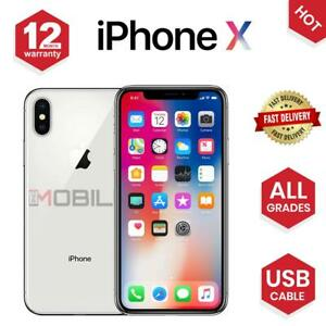 Apple-iPhone-X-iPhone-10-64GB-256GB-All-Colours-Unlocked-SIM-Free-Smartphone