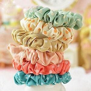 3x-Women-Girls-Elastic-Polka-Dot-Print-Hair-Band-Rope-Scrunchie-Ponytail-Holder