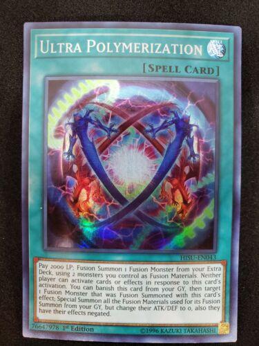 Ultra Polymerization Super Rare HISU-EN043 1st Edition YuGiOh TCG Card
