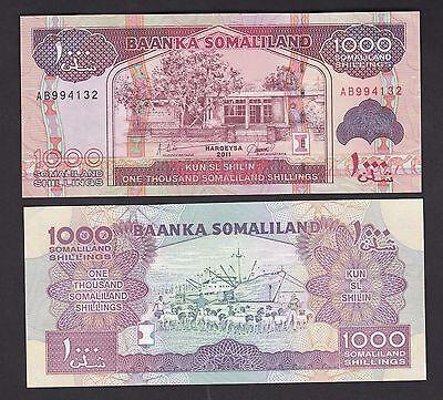 2012 Somaliland 5000 shillings UNC P-21b