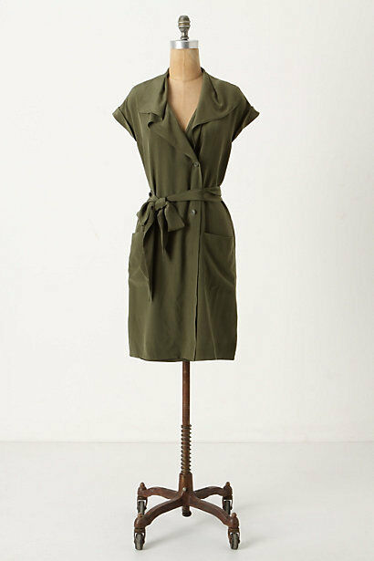 NWT Anthropologie Ida Silk Shirt Dress Dress Dress Amazing 5 Stars Size 6 588aae