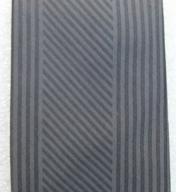 Tootal tie with grey diagonal and vertical stripes mens vintage 1960s clothes
