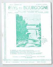 Pays De Bourgogne N°23 -01/1959 - Théatre romain Augustodunum, Rochette