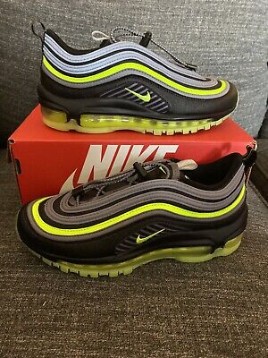 Nike Air Max 97 HZ (GS) Black/Volt/Gunsmoke Size 4Y Sz 5.5 Women's ...