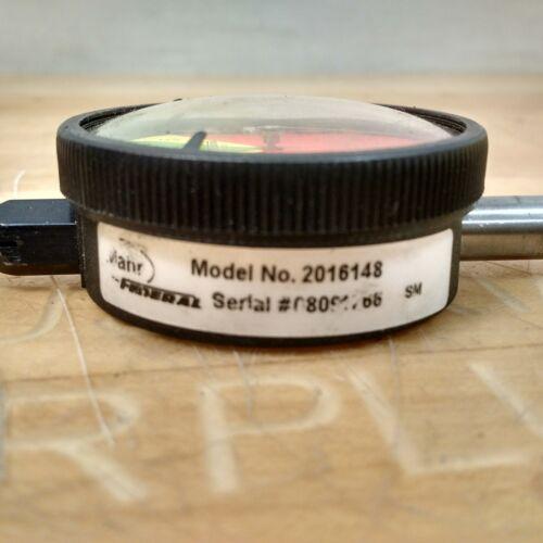 USED Mahr Federal 231 .005mm Grad Dial Indicator