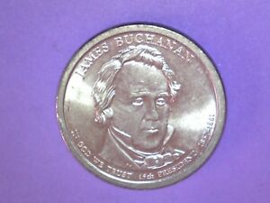"2010 P   James Buchanan Presidential Dollar /""Brilliant Uncirculated/"""