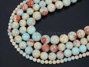 Natural-Shoushan-Stone-Gemstone-Round-Beads-15-039-039-Strand-4mm-6mm-8mm-10mm-12mm
