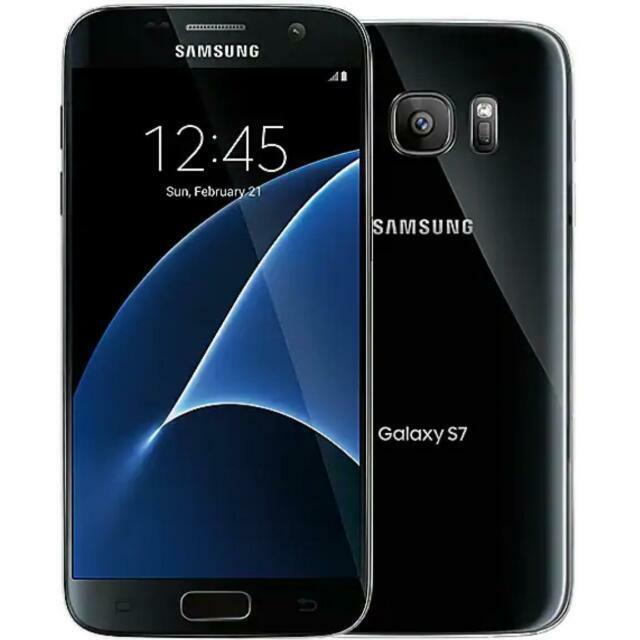 Samsung Galaxy S7 SM-G930F - 32GB - Black Onyx (Unlocked)