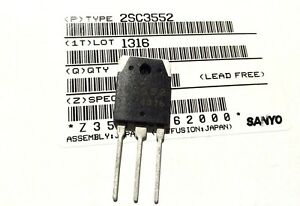 2SC3552-Silicon-NPN-Transistor-BY-SANYO-LOT-OF-5